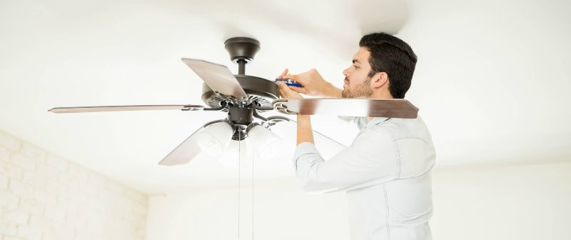Magothy electric services in Glen Burnie, MD the benefits of ceiling fans