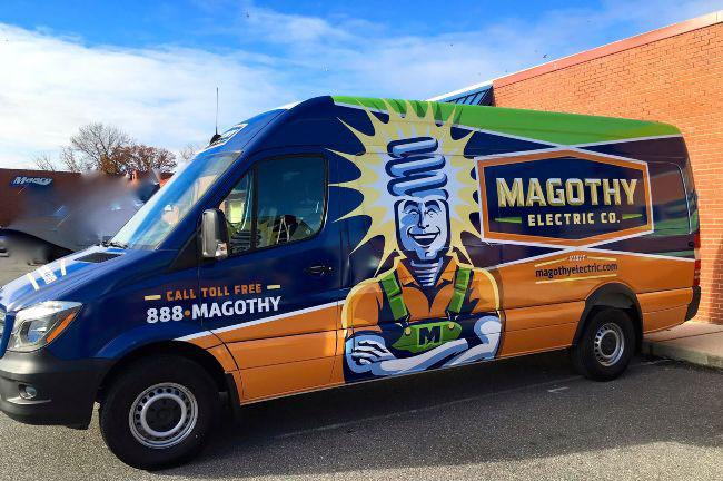 Magothy electric services in Glen Burnie, MD Van